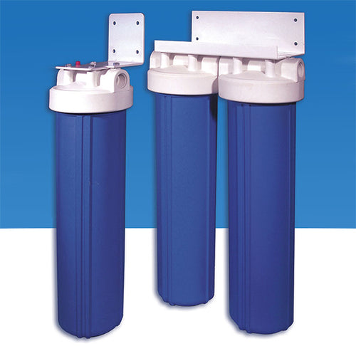 BLUE-20 Whole House Water Filter - Available in 1, 2 and 3 Filtration Stages