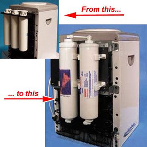 Filter Conversion Kit for Countertop Water Coolers