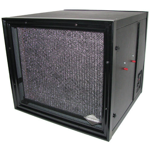 LA-2000E Electrostatic Commercial and Light Industrial Air Cleaner for Smoke - Black
