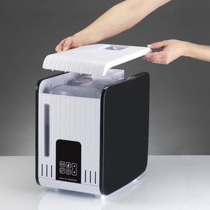 Water Tank is Accessible by Removing the Cover of the BONECO S450 Steam Humidifier