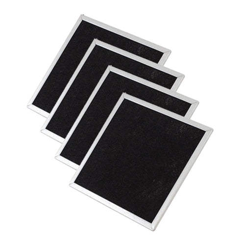 Replacement Carbon Panels for DustPlus Electrostatic Furnace and HVAC Air Filters with Activated Carbon - 4-Pack