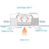 EverClear CM-11 Smoke Eater Airflow Diagram