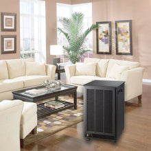 The DesignAir Portable Electronic Air Cleaner looks great in any room of your home or office!