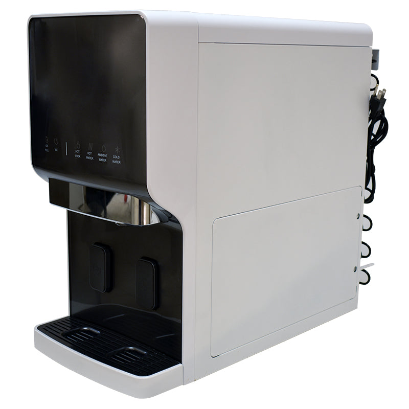 H2O-i020 - Counter Top Ice Maker and Filtered Water Dispenser