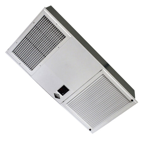 LA-1500-FM Flush Mount Electronic Smoke Eater in White - 400-1500 CFM