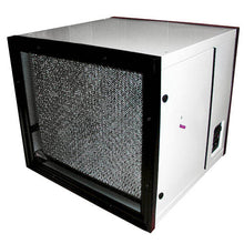 LA-2000-MC Media and Carbon Surface Mount Air Cleaner for Dust and Smoke Removal - WHITE