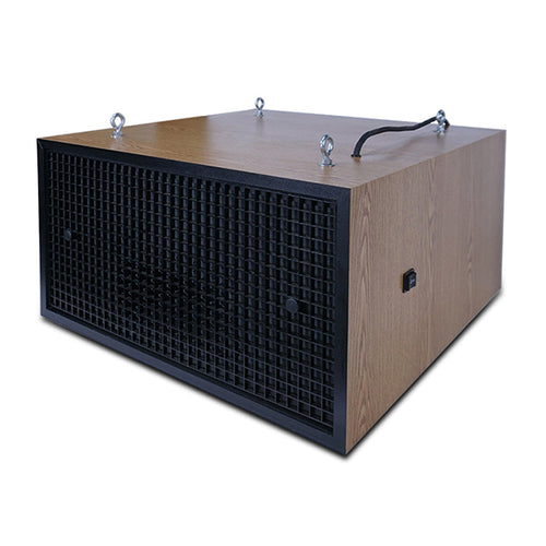Muscle Machine Surface Mount Dust and Smoke Air Cleaner - Oak