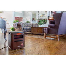 pureHeat 3-in-1 Portable Space Heater with Air Purifier & Humidifier - Family Room