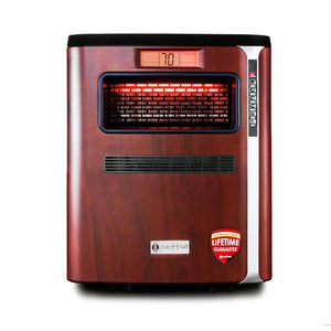 pureHeat 3-in-1 Portable Space Heater with Air Purifier & Humidifier - Front View