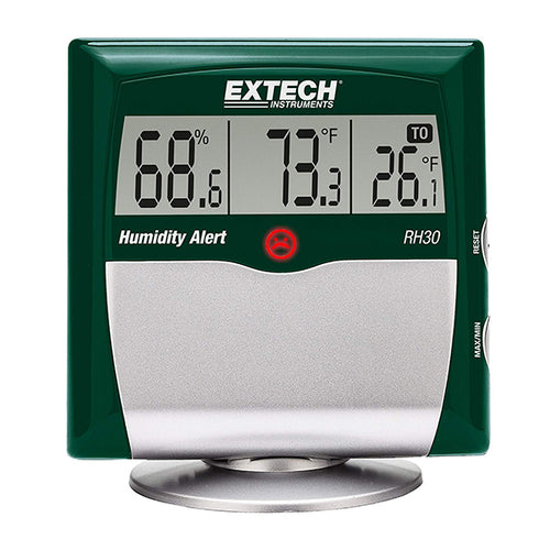Extech RH30 LCD Hygrometer with Temperature, Humidity and Dew Point Display