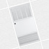 FM-2000 Commercial Flush Mount Air Cleaner and Smoke Eater Provides 1200-2000 CFM