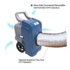 Storm ELITE High Capacity Restoration Dehumidifier can be ducted