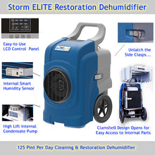 The 125 PPD Storm ELITE has many awesome features including an internal condensate pump