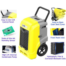 Storm ULTRA Commercial Restoration Dehumidifier - Loaded with Features