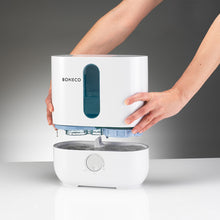 BONECO U200 Cool Mist Ultrasonic Room Humidifier is easy to fill and has a water level window