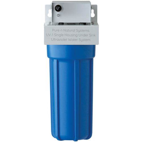 Ultraviolet Water Filtration System - UV-1 Single Housing Under Sink Water Filter