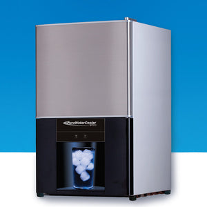 The Vertex PWC-850 Countertop Ice Maker and Water Dispenser Products 20 Pounds of Ice Per Day