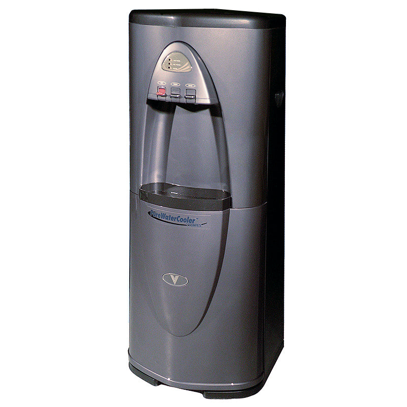 Vertex PWC-3500 3-Temperature High Capacity Bottleless Filtered Water Cooler in Executive Gray