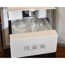 Ice Machine Dispenses Continuous Supply of Room Temperature Water and Perfectly Chilled Ice