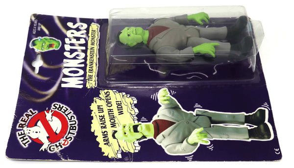 Vintage 1986 80s Kenner The Real Ghostbusters Monsters The Frankenstein Monster Action Figure Carded MOC