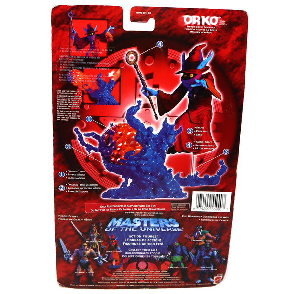 2002 Mattel He-Man MOTU Masters of the Universe Modern Series Orko Action Figure Carded MOC