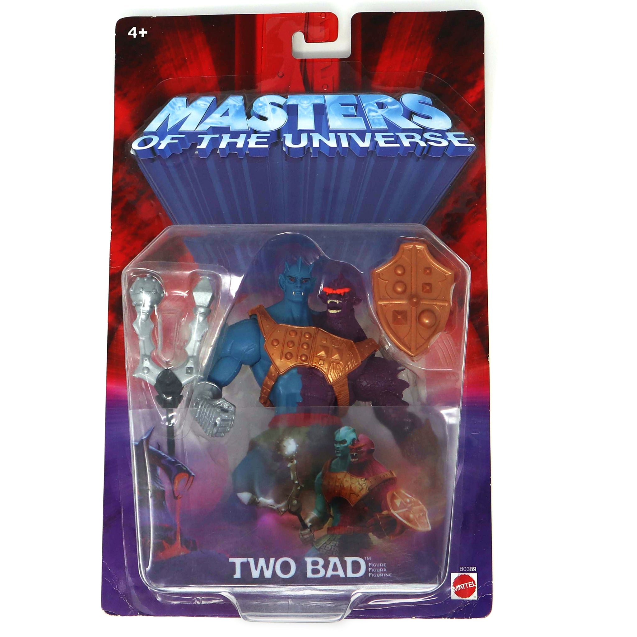 2003 Mattel He-Man MOTU Masters of the Universe Modern Series Two Bad Action Figure Carded MOC