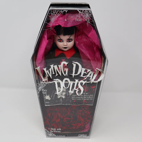"Vintage 2001 Mezco Toyz Living Dead Dolls Series 2 Kitty 10"" Doll Complete Boxed Rare"
