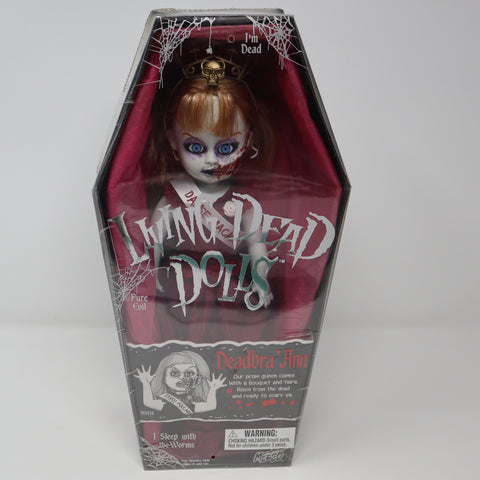 "Vintage 2001 Mezco Toyz Living Dead Dolls Series 2 Deadbra Ann 10"" Doll Complete Boxed Sealed Rare"