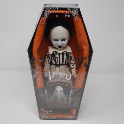 "2008 Mezco Toyz Living Dead Dolls Series 16 Eleanor Halloween 10"" Doll Complete Boxed Sealed Rare"