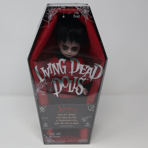 "2008 Mezco Toyz Living Dead Dolls Series 15 Judas 10"" Doll Complete Boxed Sealed Rare"