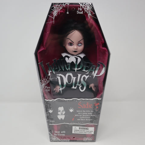 "Vintage 2001 Mezco Toyz Living Dead Dolls Series 1 Sadie 10"" Doll Complete Boxed Sealed Rare"