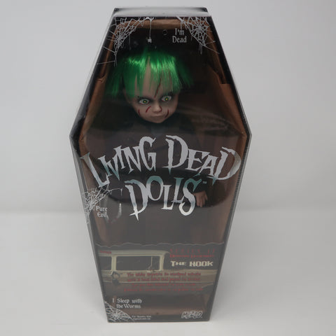 "2009 Mezco Toyz Living Dead Dolls Series 17 Urban Legends The Hook 10"" Doll Complete Boxed Sealed Rare"