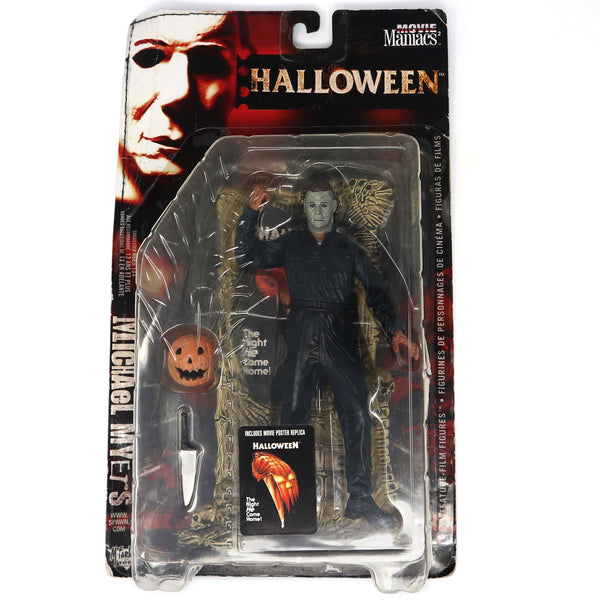 Vintage 1999 Movie Maniacs Series 2 Halloween Michael Myers Figure Carded MOC Rare