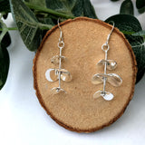 Eucalyptus Earrings, Leaves Earrings - a ring a day