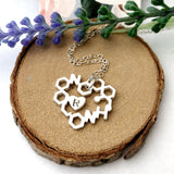 Love chemistry necklace