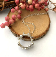 Garland Necklace, Christmas Garland Necklace - a ring a day
