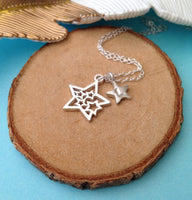 You Are A Star Necklace With Initial Star