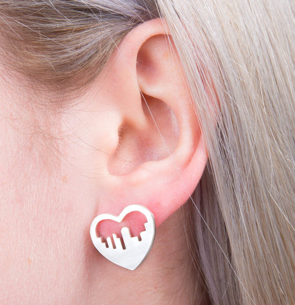 City Skyline Earrings - a ring a day