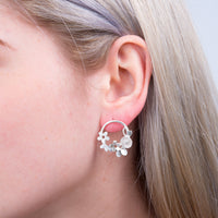 Flower Garland Earrings - a ring a day