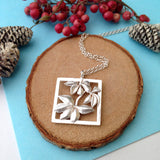 Sterling Silver Autumn Necklace