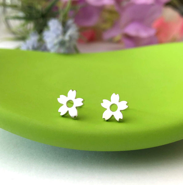 Cherry Blossom Flower Earrings