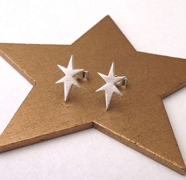 Small Northern Star Earrings