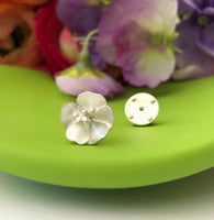 Sterling Silver Buttercup Pin Brooch