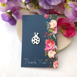 Ladybird Pin Brooch - a ring a day