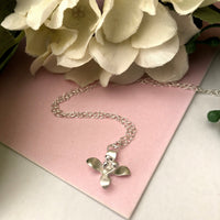 Lily Flower Necklace - a ring a day