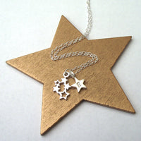 personalised magic star necklace