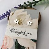 Mini Flower Earrings