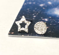 Pair Your Own Mini Moon And Star Earrings