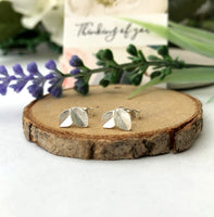 Mini Leaf Earrings - a ring a day