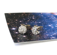 Mini Mismatched Moon Earrings - a ring a day